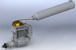 Engine Glow YS 170