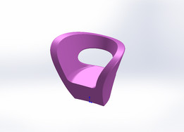 armchair fauteuil victoria et albert Ron Arad