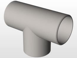 Stainless steel Tee 42.4x2