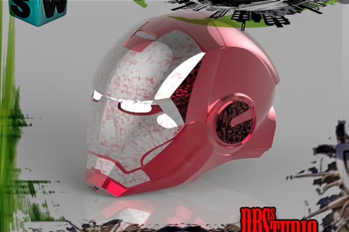 Iron Man Helmet 3d Model Iron Man Helmet