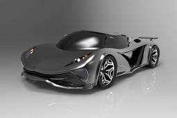 Kingcrusider Concept Sport Car