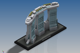 LEGO Architecture - Marina Bay Sands (21021)