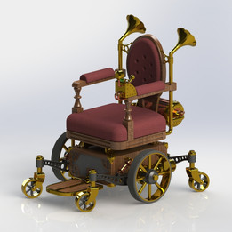 Lord Kyron's Mechanical Wheelchair