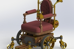 Lord Kyron's Mechanical Wheelchair
