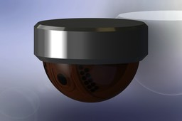 Video surveillance dome camera