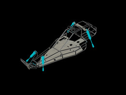 3D RC Buggy Model