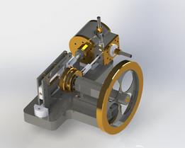 Scotch yoke engine