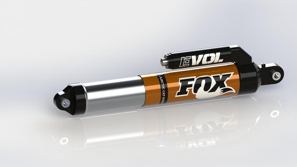 Fox Float 3 EVOL | 3D CAD Model Library | GrabCAD