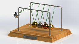 Newton's Cradle (Solidworks)