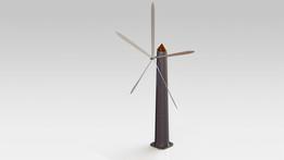 3D Printing Wind Mill