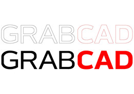 GrabCAD Logo In AutoCAD DWG Format Vectorized