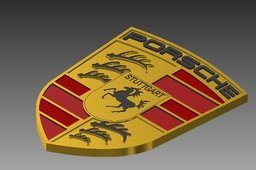 Porsche logo ( superior german technology )