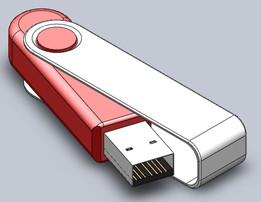 A USB flash