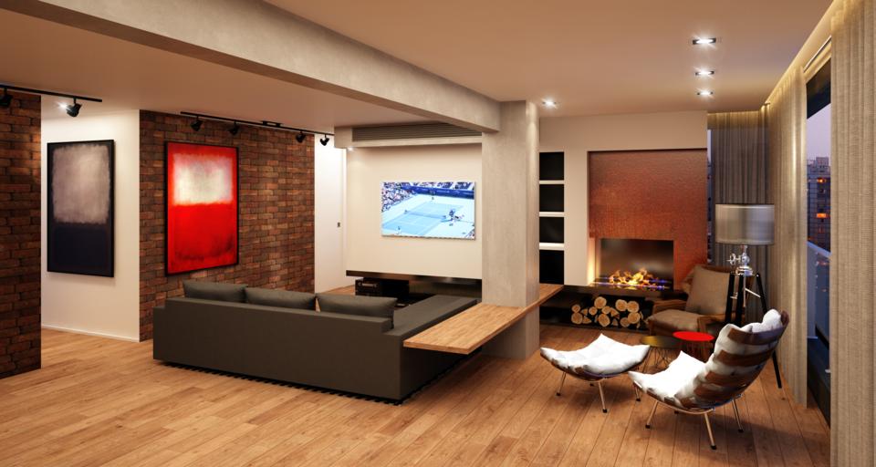 NEW APARTMENT DESIGN 48D CAD Model Library GrabCAD Unique Apartment Designer Online Model