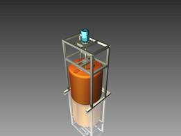Platfom Mixer Toren for Diswash