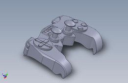 game controller in step