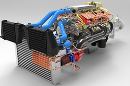 350 CHEVROLET V8 TWIN TURBO