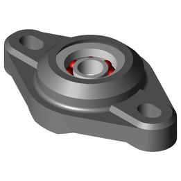 EFOM-BB1-P12-B180-ES Two hole flange bearing