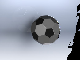football using solidworks 2009