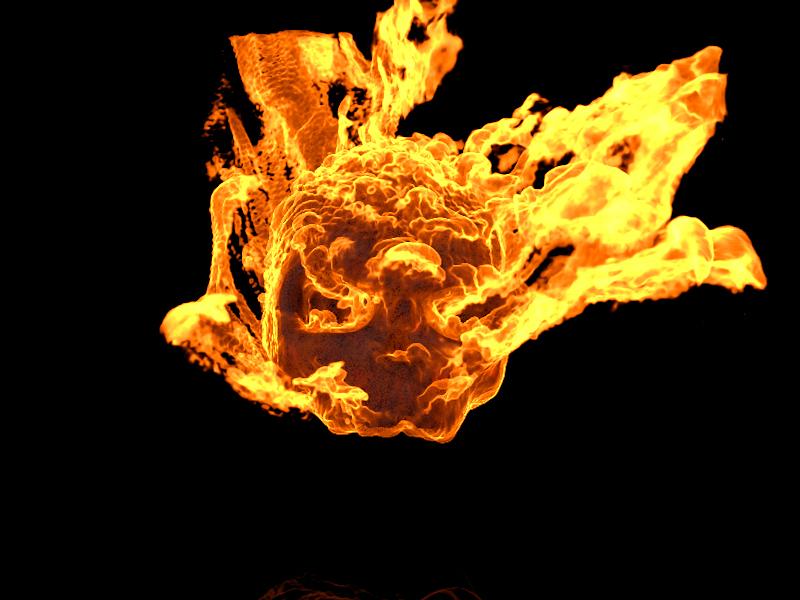 Ghost Rider Skull | 3D CAD Model Library | GrabCAD