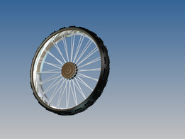 Wheel with Hub