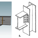 beam column end-plate connection