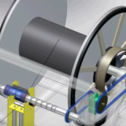 Request: Rope winder with reversing ball screw