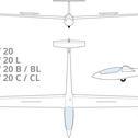 ASW20 glider