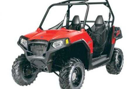 Polaris RZR chassis and roll cage
