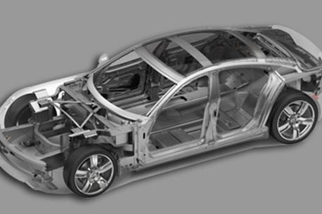 car frame or ribcage