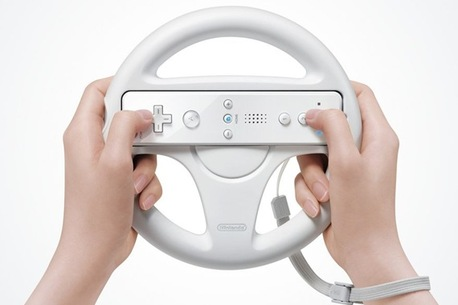 steering-wheel of wii