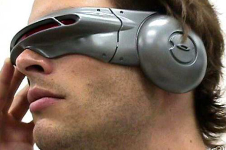 Solidworks Part Modeling Cyclops Visor from X-Men