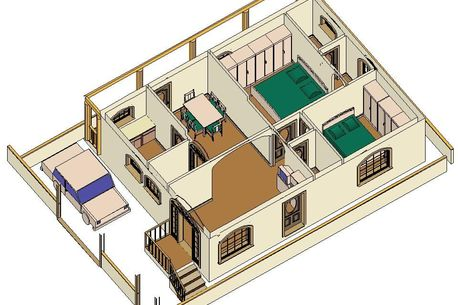 Grabcad for House plans for 30x40 site