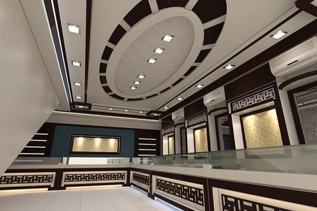 Jewellery Shop Interior Design