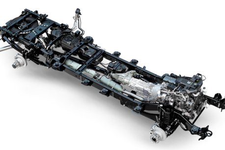 3d Chassis of Ford F550 or
