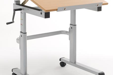 Good Portable Adjustable Student Desk With Wheels
