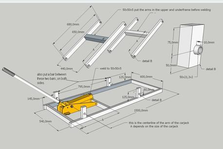 Diy Motorcycle Lift DIY Lift Table Wiring Diagram ~ Odicis